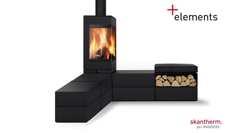 elements vente poeles bois toulon 83 aix en provence 13. Black Bedroom Furniture Sets. Home Design Ideas