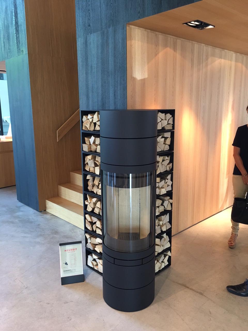 installation d 39 un po le bois marseille de marque skantherm rund elements. Black Bedroom Furniture Sets. Home Design Ideas